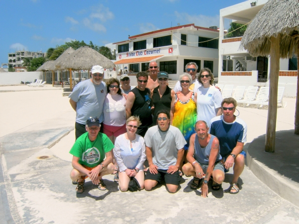 Cozumel Group Picture